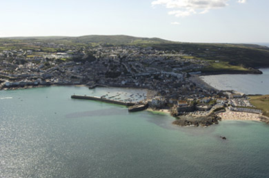 Aerial Photograph of St Ives